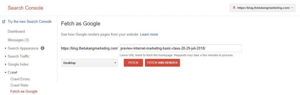index google webmaster